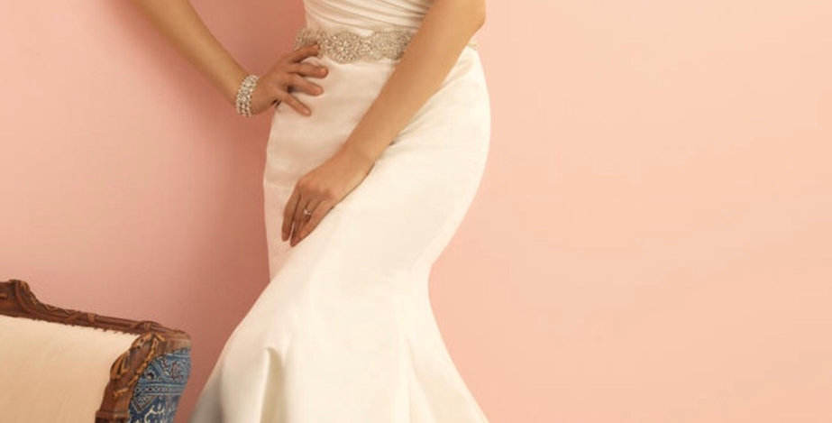 7530, Allure 2861 size 12 ivory