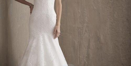 8648, Adrianna Papell 31017 size 6, 8 white