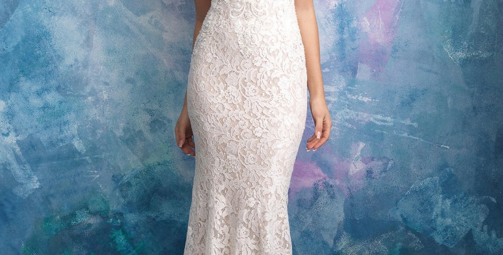 0359, Allure 9566 size 10 ivory-nude
