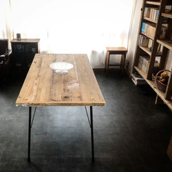 足場板テーブル