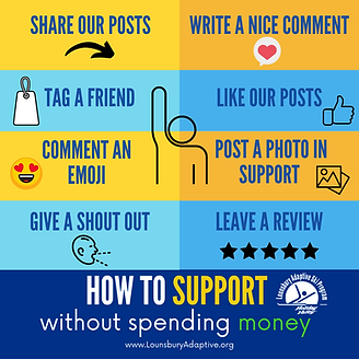 how to support lasp without spending $.p