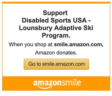 Support Disabled Sports USA - Lounsbury Adaptive Ski Program Amazon Smile