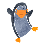 1500x1500 transparent Penguin with mask