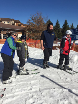Nick, Clayton, and Instructors