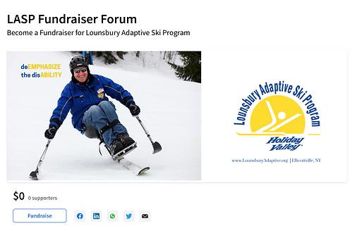 Lounsbury Adaptive Fundraiser Forum