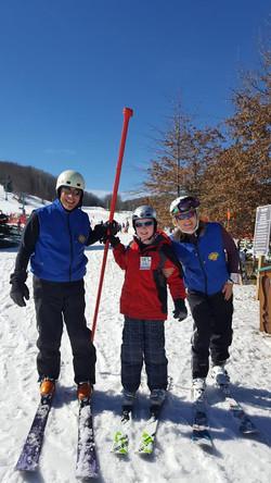 Gavin and instructors