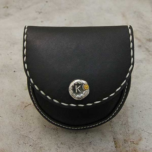 INITIAL COIN  CASE(BLK)