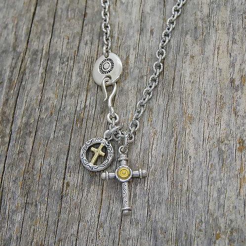 Cross & Gold Cross Wheel