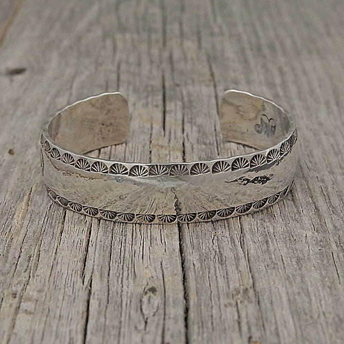 Side Stamped Bangle