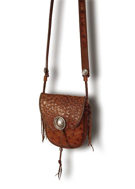 Medicine Shoulder Bag -Ostrich-