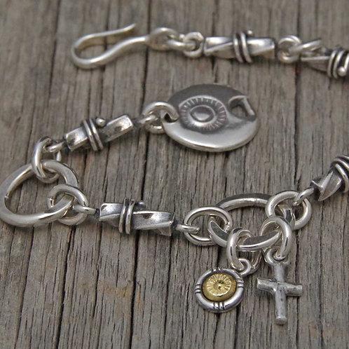 Twist Tube Chain Bracelet