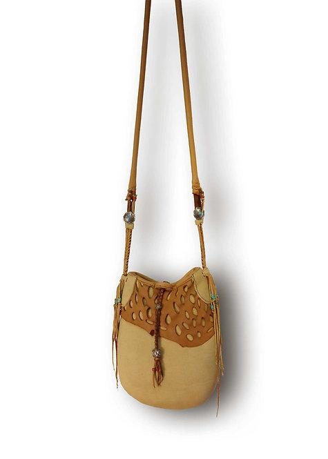 Deer Skin Shoulder Bag-B-