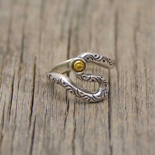 S-CURVE RING