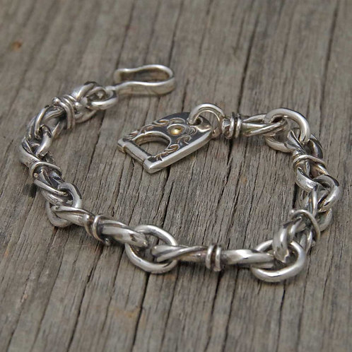 Twist Rope Chain Bracelet