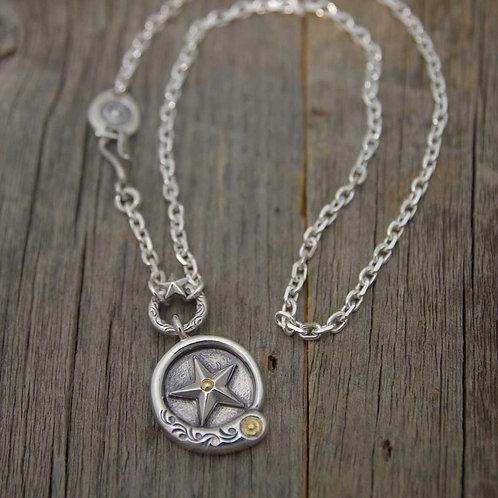 Comet Metal Necklace