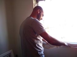 החלפת חלון כיס ישן בחדש