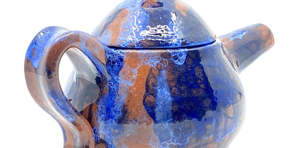 Ocean Blue Teapot
