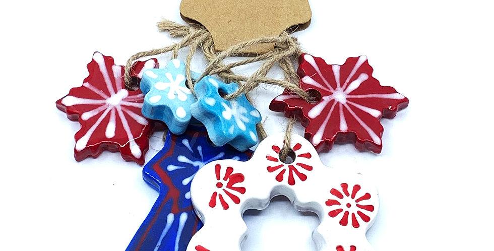 Christmas Ornaments 4 (Set)