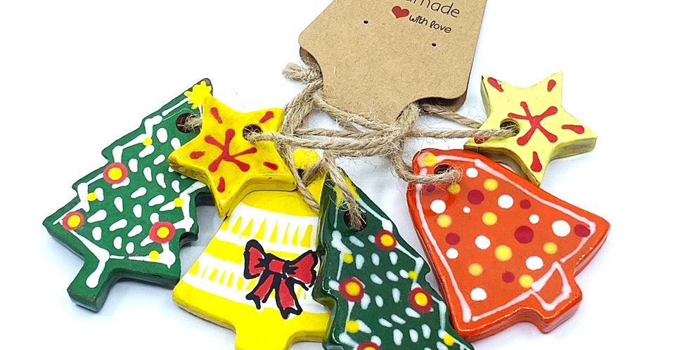 Christmas Ornaments 9 (Set)