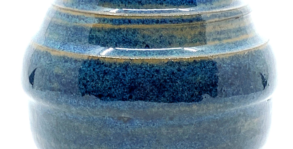 Blue Rutile Vase