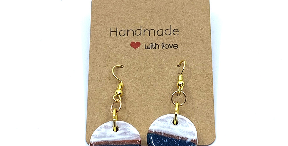 Half-Moon Earrings