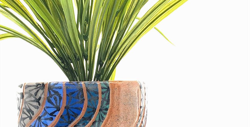 Shades of Blue Planter