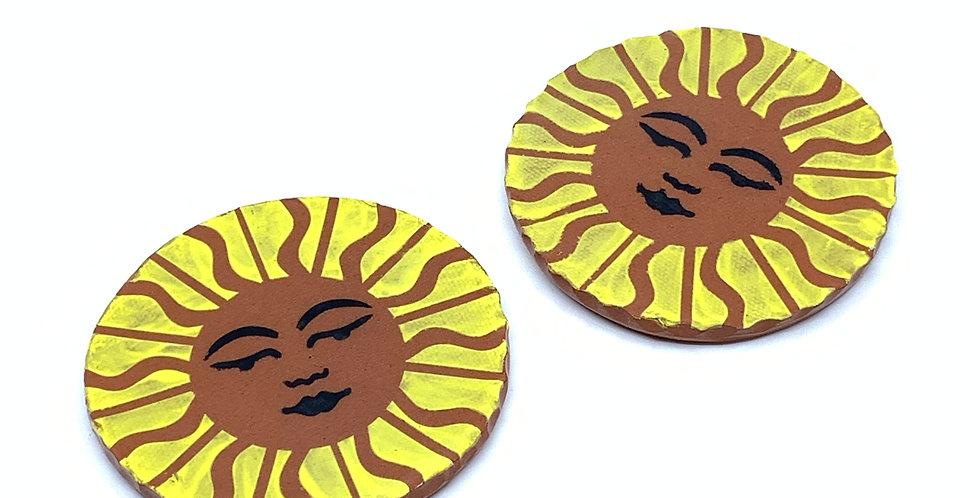 Sunshine Coasters (Set of 2)