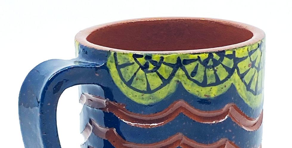 Navy Blue Mug