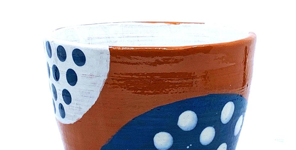 Inside Out Blue Bowl (Large)
