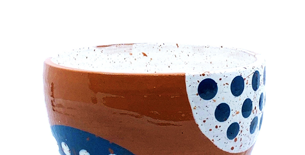 Inside Out Blue Bowl