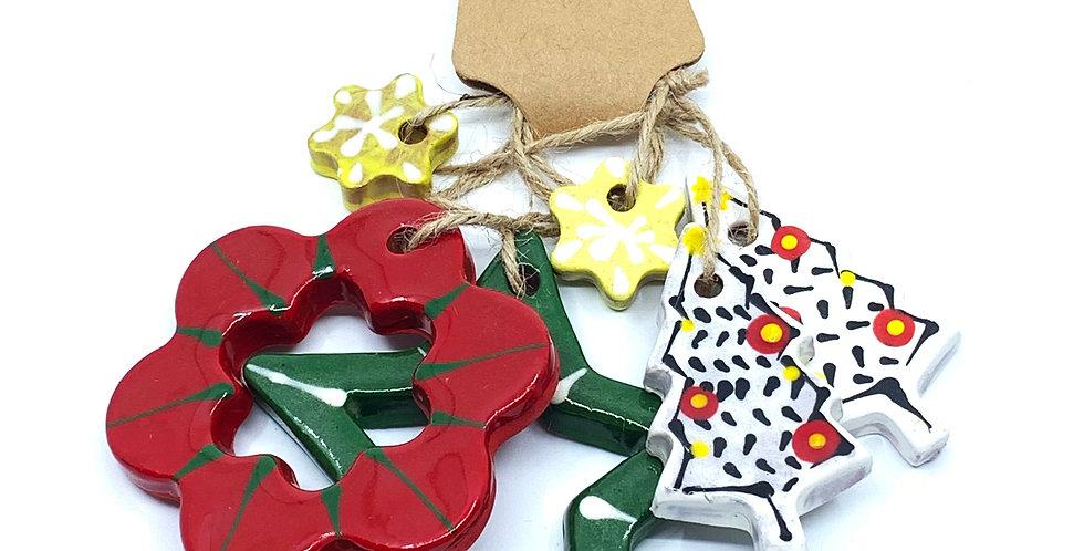 Christmas Ornaments 8 (Set)