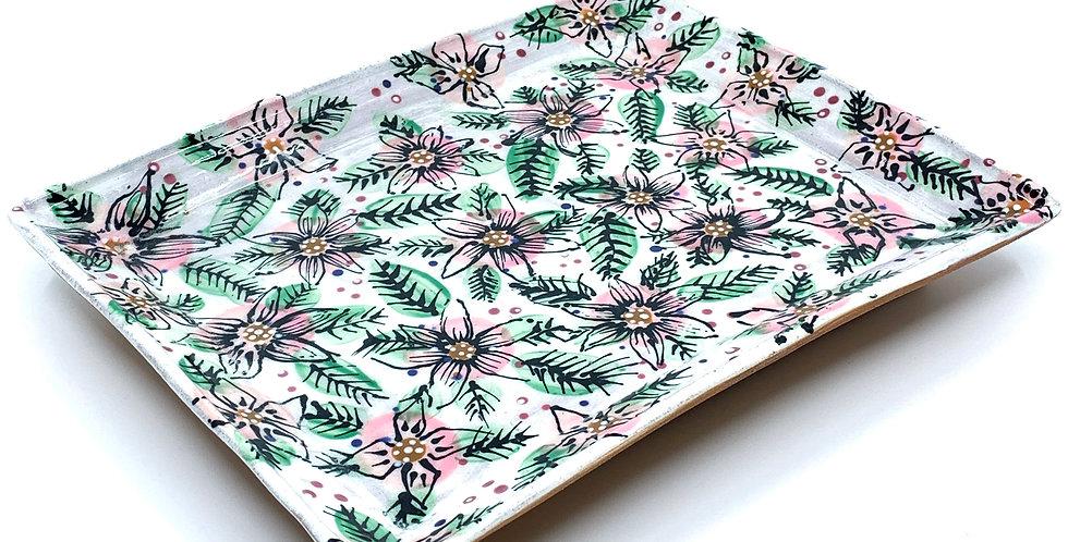 Blossom Rectangle Plate