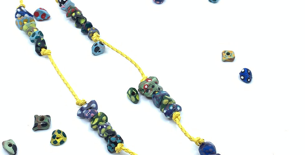 Yellow Clay Mobile Chain