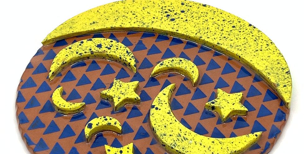 Yellow Ramadan Trivet