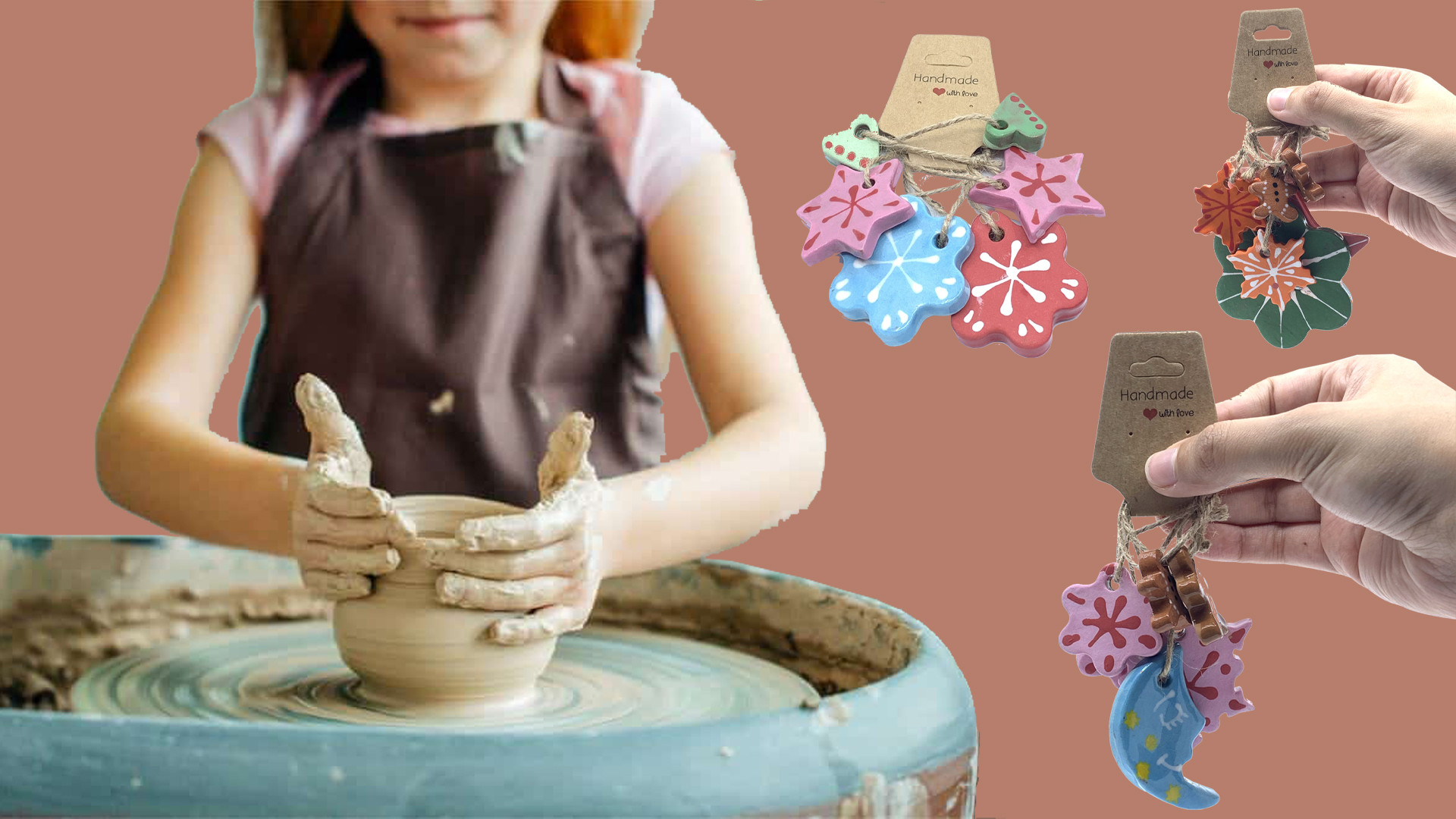 Kids Class (Keychains + Pottery Wheel)