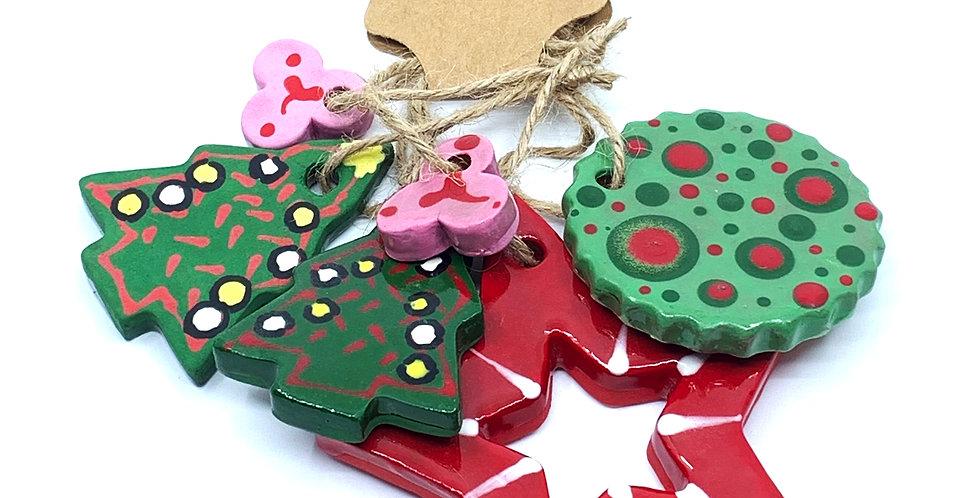 Christmas Ornaments 5 (Set)
