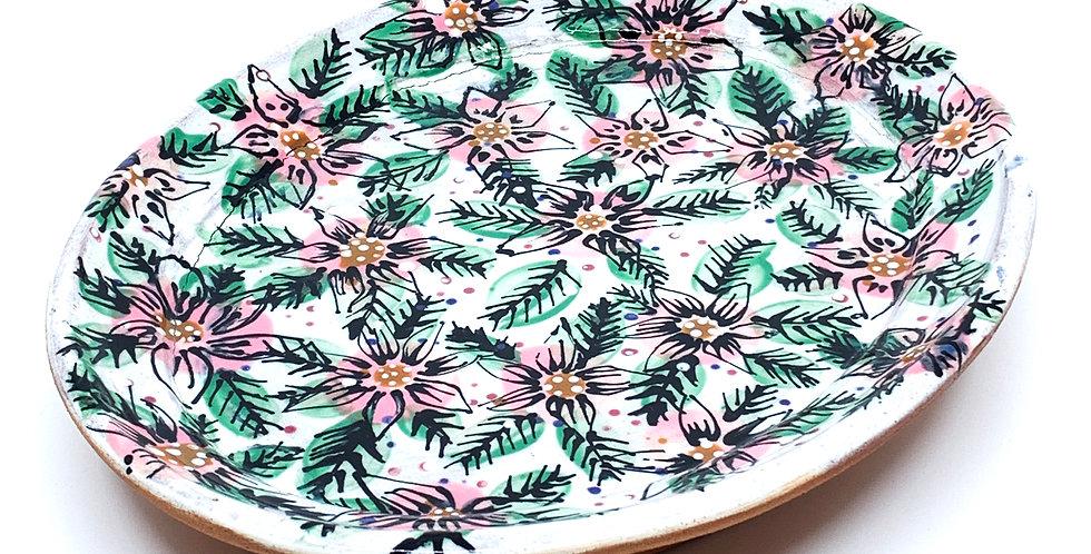 Blossom Ellipse Plate