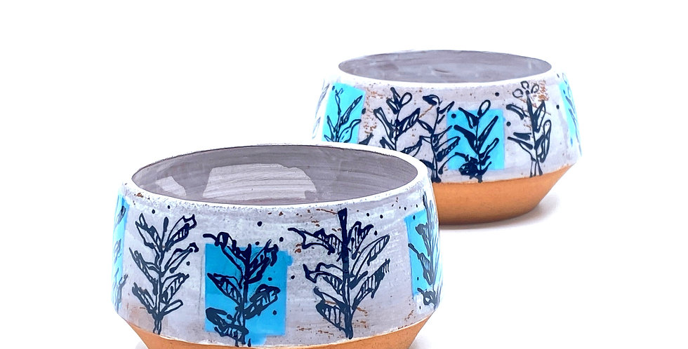 Nourishing Blue Bowls (Couple)