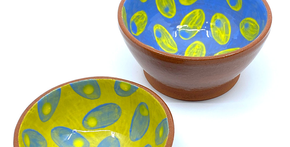 Easter Dotty Bowls (Couple)