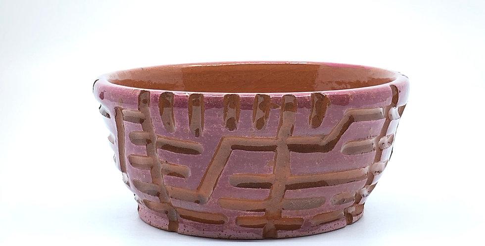 Pink Maze Bowl
