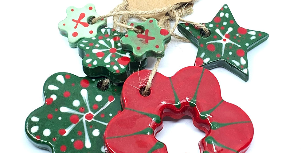 Christmas Ornaments 6 (Set)