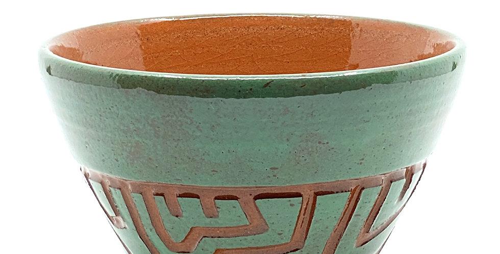 Maze Green Bowl