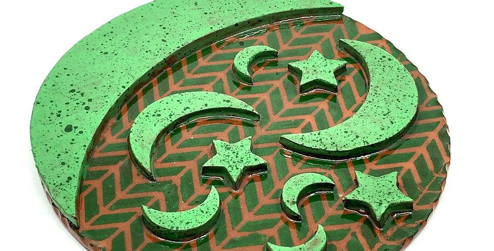 Green Ramadan Trivet