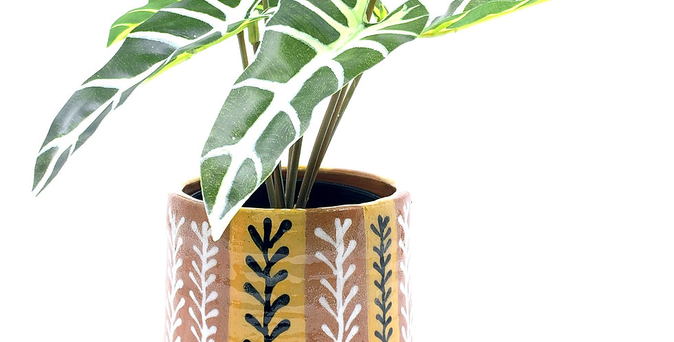 Yellow Branches Planter