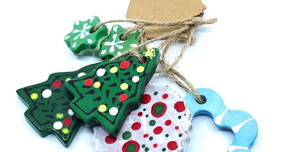 Christmas Ornaments 12 (Set)