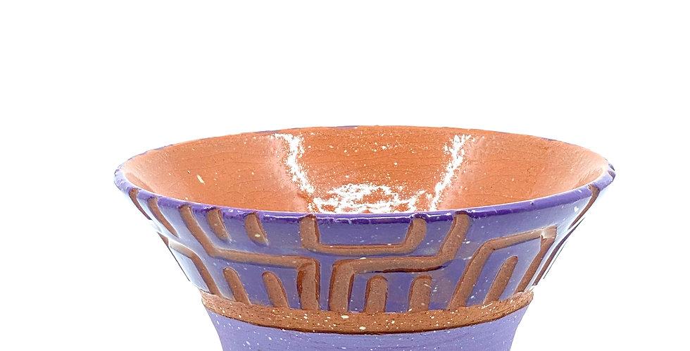 Maze Purple Bowl