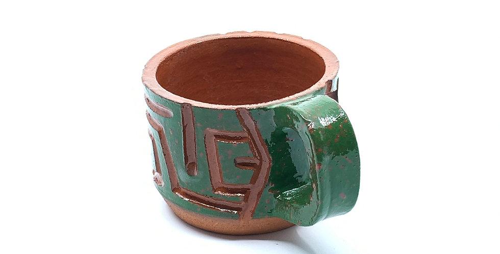 Green Maze Mini Mug