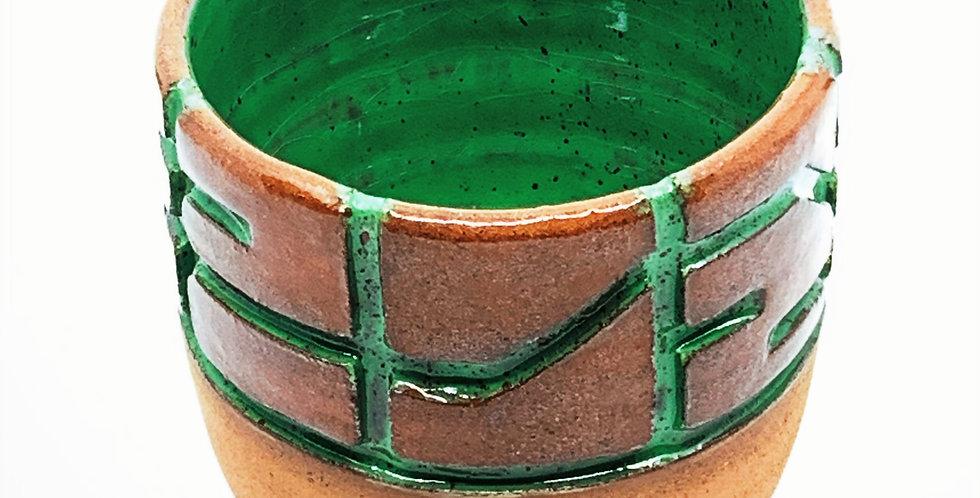 Green Maze Cup