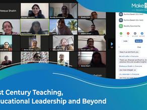 Strengthening 21st Century Teaching-Learning, MakeShift Organizes Workshops For Education Leaders
