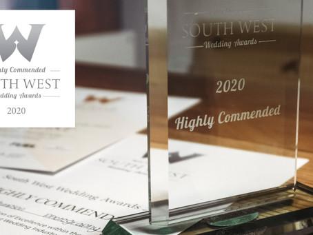South West Wedding Awards 2020